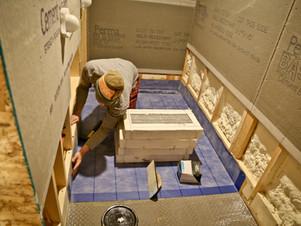 Master Bath Tile Complete!