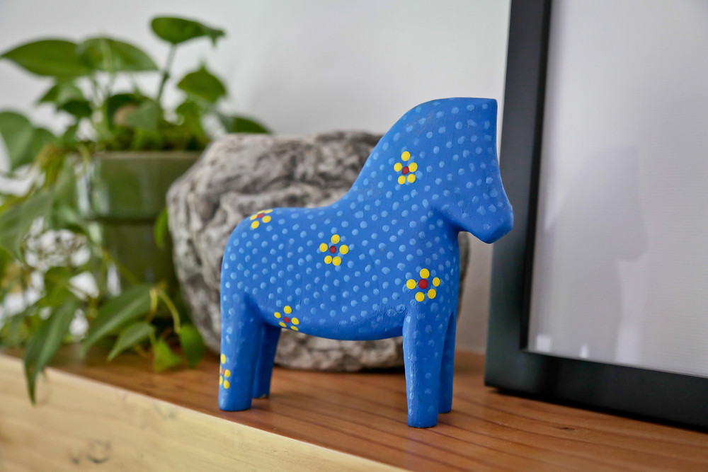Scandinavian Wood Carving-Dala Horse