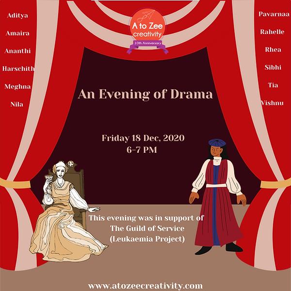 2020: An Evening of Drama