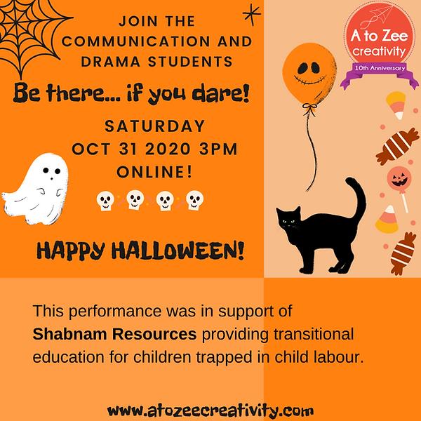 2020: Halloween Show