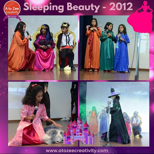 2012: Sleeping Beauty play
