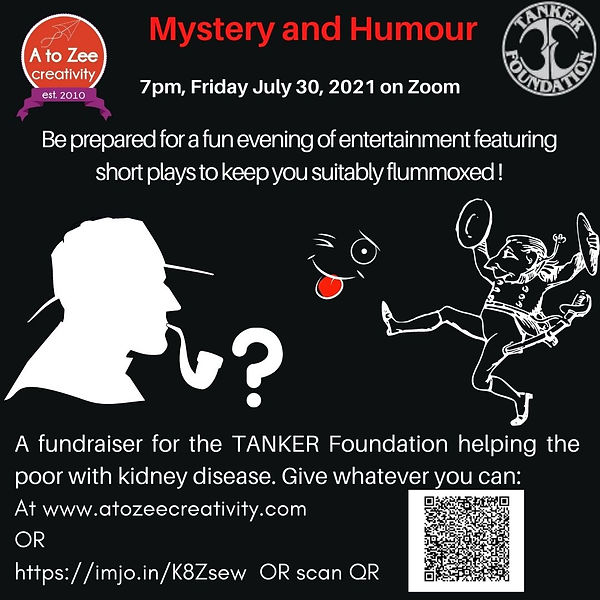 2021: An Evening of Mystery and Humour