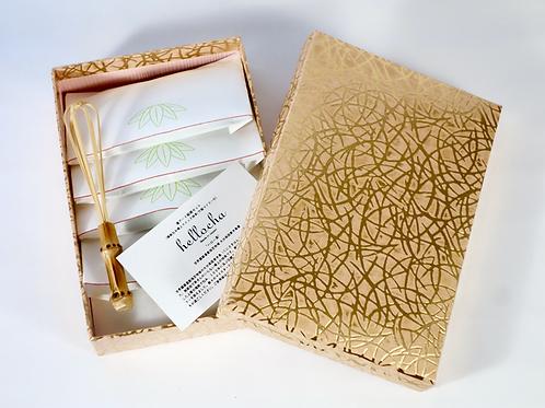 Hellocha/ Quick Super Matcha- Traditional Box/ハロー茶  特上クイック抹茶 漆紙箱セット