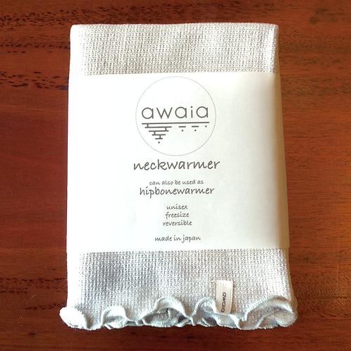 awaia neck & hipbone warmer/ greybeige /ネック&ヒップボーンウォーマー/グレーベージュ