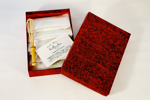 "Hellocha / Quick Super Matcha - Special Box/ハロー茶 ‶茶せんのいらない""  特上クイック抹茶  ボックスセット"