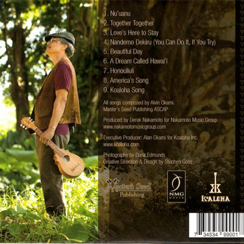 CD_Beautiful Days/ ALVIN OKAMI/ビューティフルデイズ/アルビンオカミ