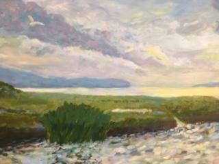 "Tide Rising at Sunset"" $300"