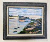 """""""The Wharf, High Tide""""    $200"""