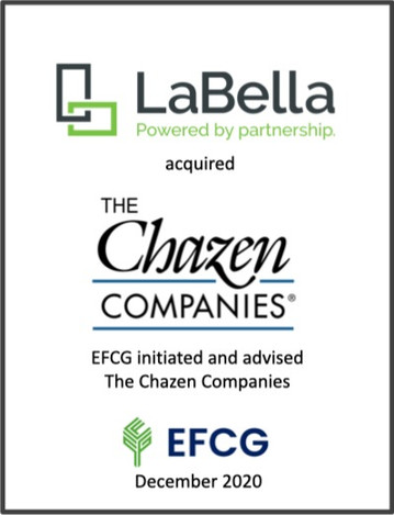 LaBella, The Chazen Companies, EFCG