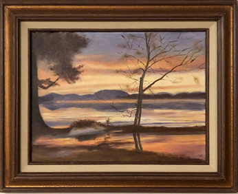 Sunset on Lake Champlain | $375