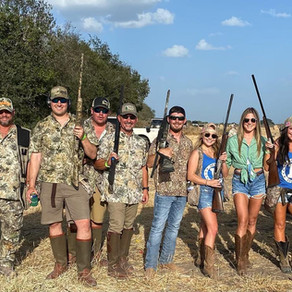 2nd Annual Dove Hunt a Success!
