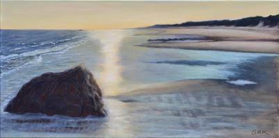 """Dawn's Glow on the Bay""  |  $150"