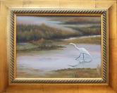 """""""Marsh Egret""""     $350"""