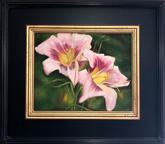 """""""Two Pink Lilies""""     $250"""