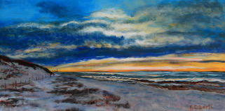 """""""Winter Glow at Bayview"""" 