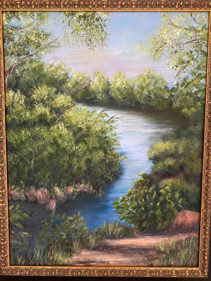 """""""A Path at the Grist Mill"""" $400"""