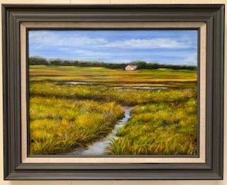 """Short Creek Marsh, Spring"""