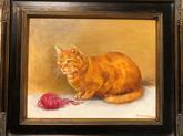 Orange Tabby Cat | $225