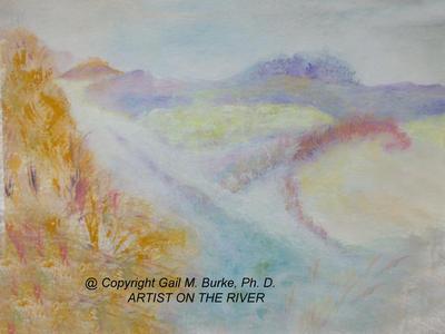 Chapin Dunes - abstract  |  $250