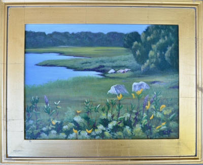 """Flowers on the Marsh""  |  $175./$250"