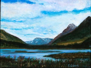 """""""Just off the Road in Alaska"""" 
