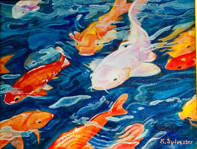 """Don't Be Koi, Mr. White""  