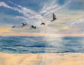 """The Splendor of Birds in Flight""  