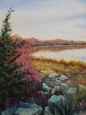 """Autumn Pond I""  |  $260"