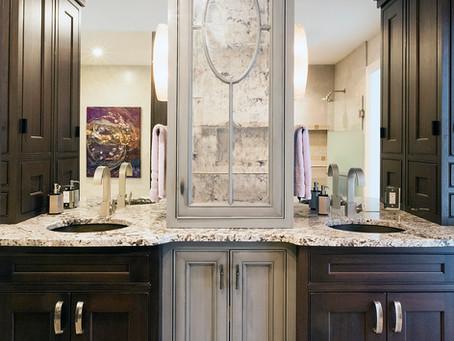 Elegant Cabinetry in Medfield Bathroom