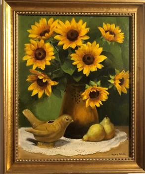 Sunflower Still Life | $375
