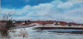 """""""Snow on the Marshes"""" 