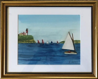 Many Sailboats | $150