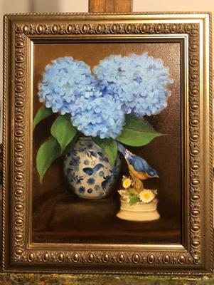 Bluebird Hydrangea | $325