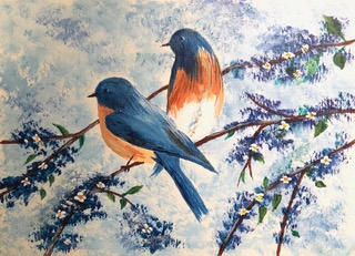 """""""Feathered Friends"""" 