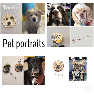 Pet Portraits - Commission