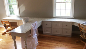 Study Desk & Craft Area