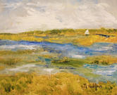 Sailing the Marsh   $150