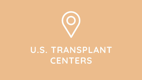 View our searchable database with useful data of all liver transplant centers in the U.S. including updated contact information