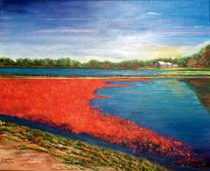 """""""Cranberry Harvest"""" (Yarmouth)  