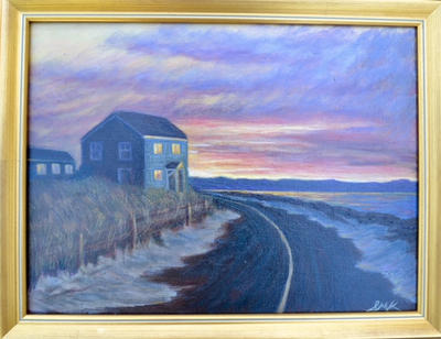 """Good Night Cape Cod Bay""  |  $150./$200"