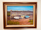 """""""The Wharf, Low Tide"""" 