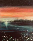 """Unique Sunset"" (Alaska) | $295"
