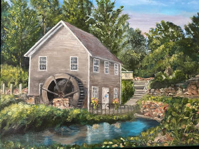 """""""The Grist Mill"""" $300"""