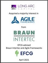 Long Arc Capital, Agile Frameworks, Braun Intertec, EFCG