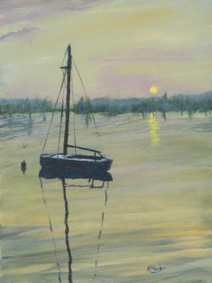 Sunset Sailor | $200