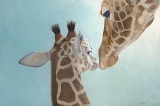Mom and Baby Giraffes | $2500