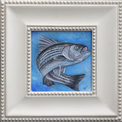 """Striped Bass""  |  $100"