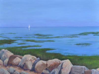 """Bayside Sail""  |  $175"