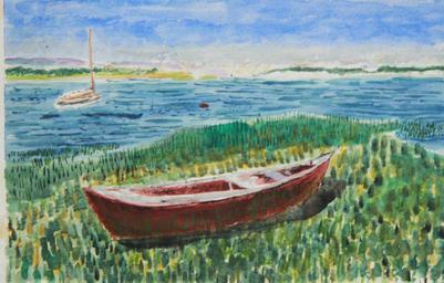 """""""Abandoned Boat""""   95"""