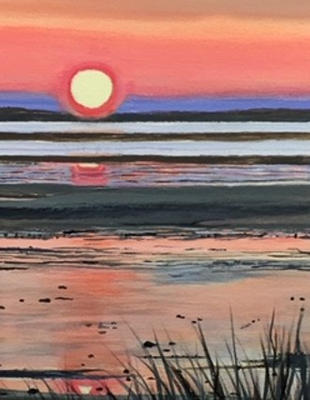 Sunset on the Flats, Barnstable | $280